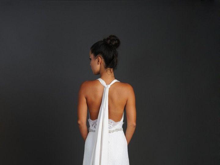 Tmx 1348603586310 Malekbackview Orlando wedding dress