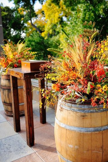 fall ceremony decor