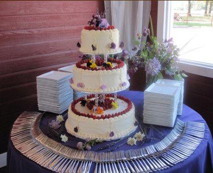 beau chocolat wedding cake portland or weddingwire. Black Bedroom Furniture Sets. Home Design Ideas