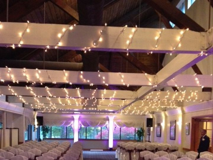 Tmx 1413738540663 Ceremony With Purple Uplighting Stratford, CT wedding venue