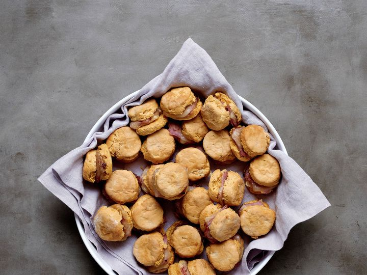 Tmx 1509460598751 Sweet Potato Ham Biscuits With Apple Butter Richmond, Virginia wedding catering