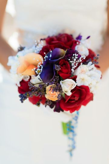 Custom Everlasting Silk Wedding Flowers!