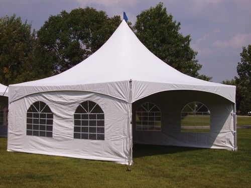 Our 20X20 High Peck Tent