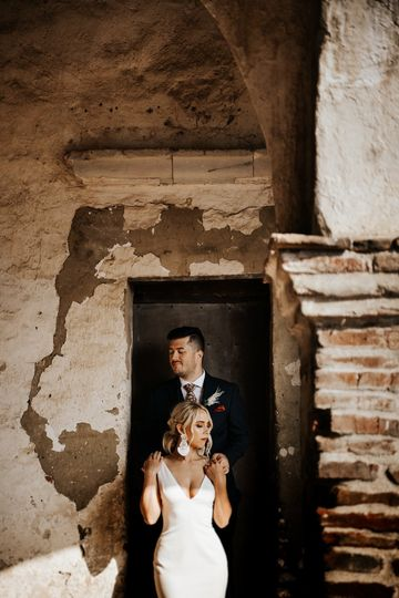 Romantic old world wedding
