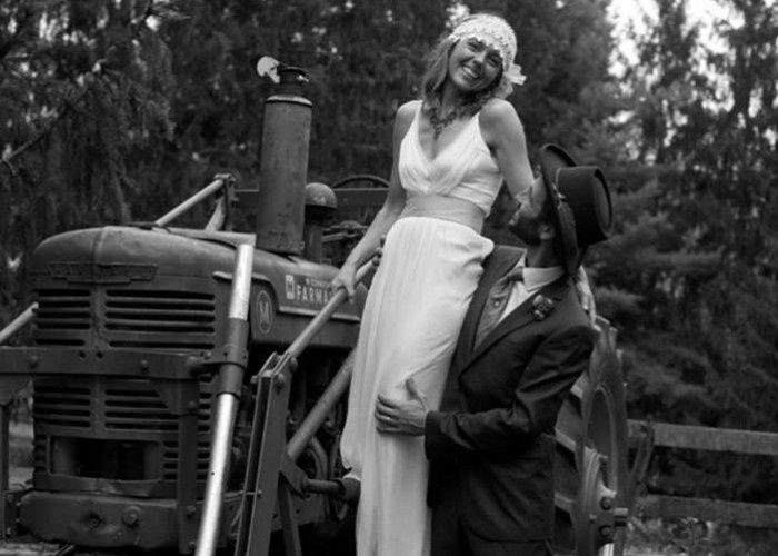 Tmx 1414695577952 Erin Tractor B And Whome 700x500c Kerhonkson, NY wedding venue