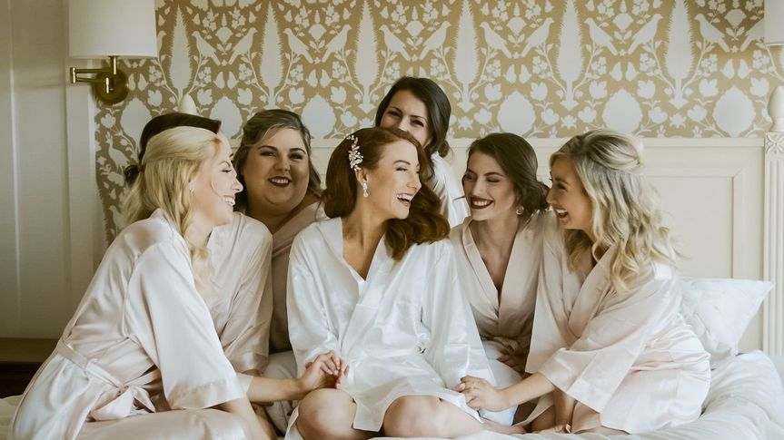 Kristina and Bridesmaids