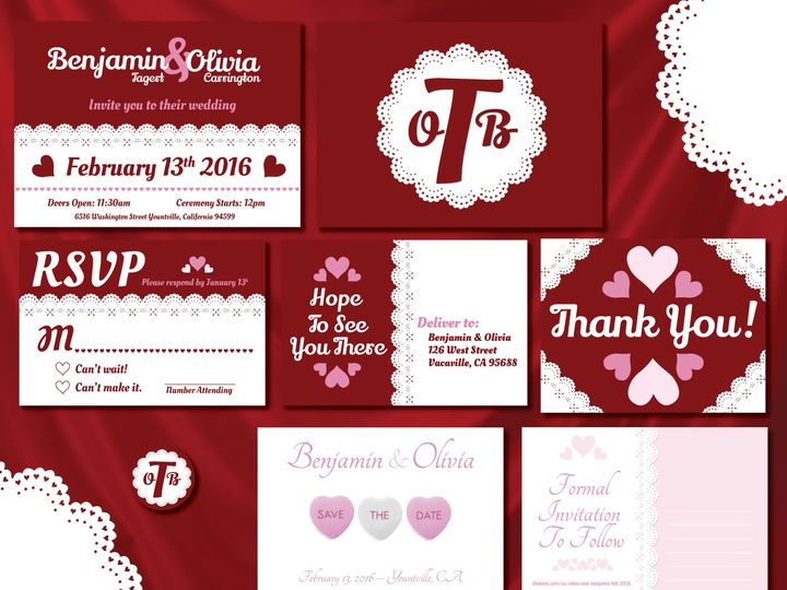 Tmx 1470957901778 Olivia  Ben Invitation Set Forestville wedding invitation
