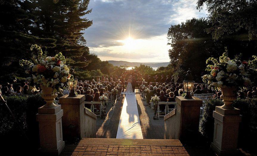 pavilion outdoor ceremony
