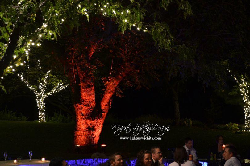 outdoor lighting wichita botanical gardens