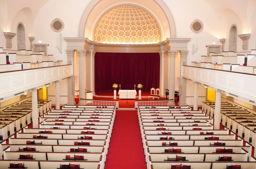 Main chapel upstairs view