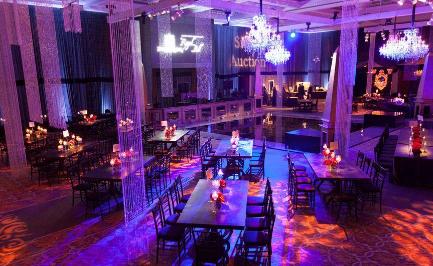 Elegant indoor reception