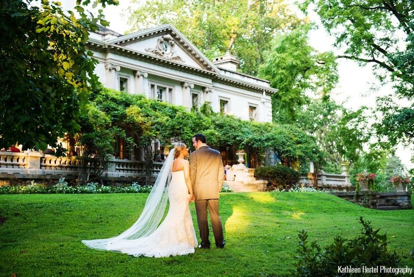 Wedding at the liriodendron