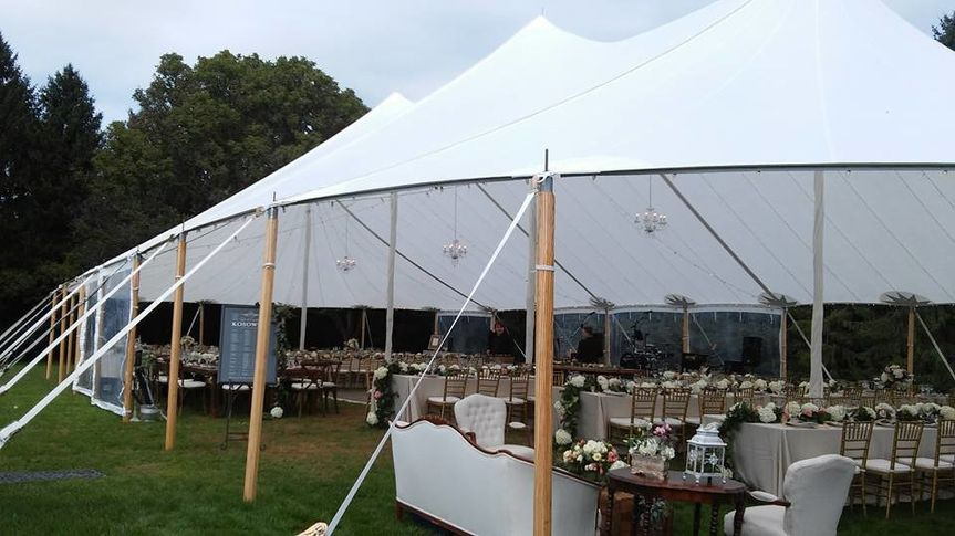 Greencrest manor tent