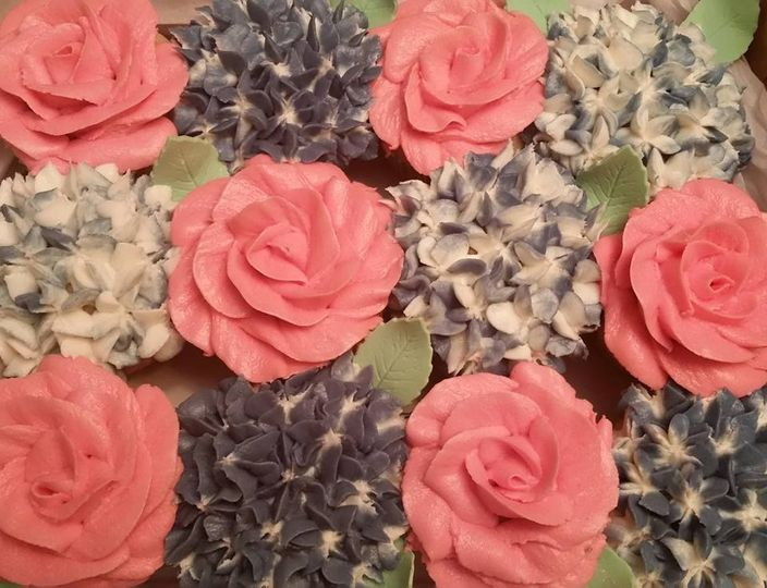 Buttercream frosted cupcakes - $2.50 each