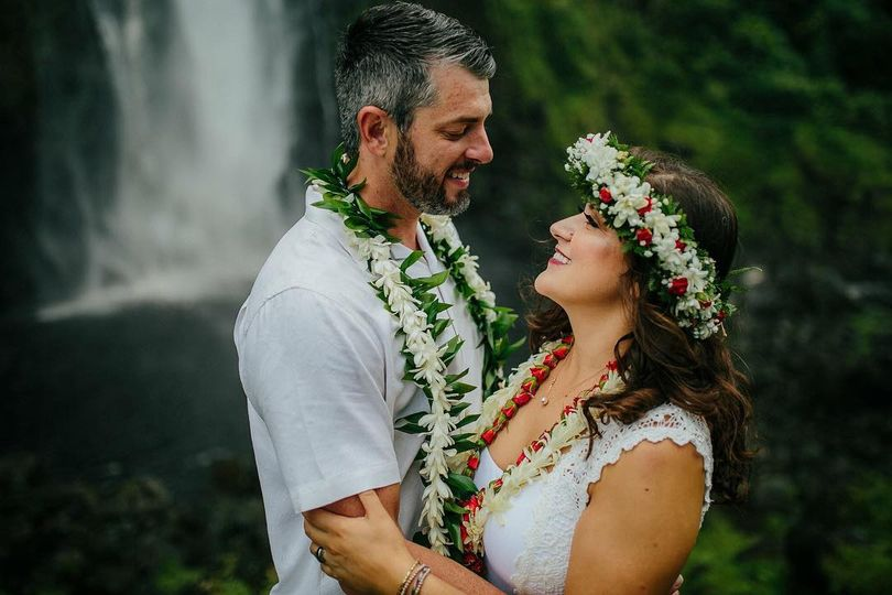 Sacred Waterfall Wedding