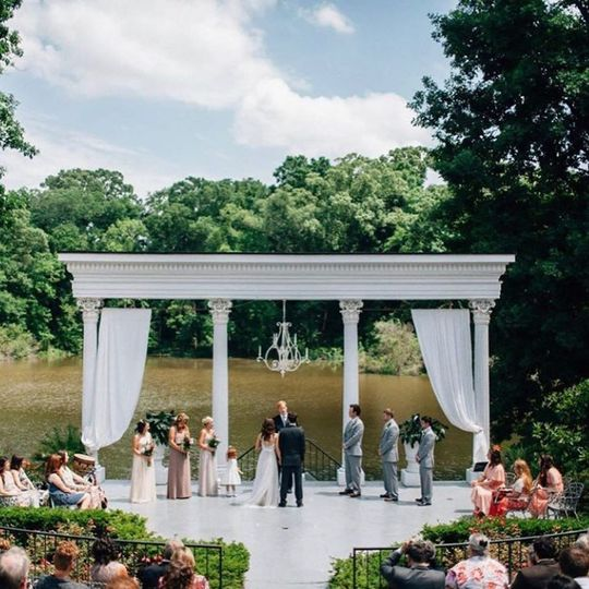 Amphitheater Wedding
