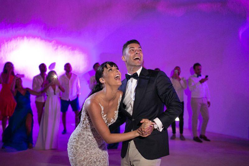 Wedding of Danielle & StevenSantorini, 1st of July 2015Wedding ceremony at Dana Villas, Firostefani,...