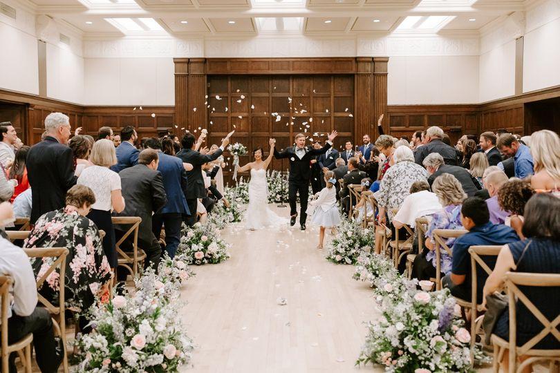 South ballroom ceremony