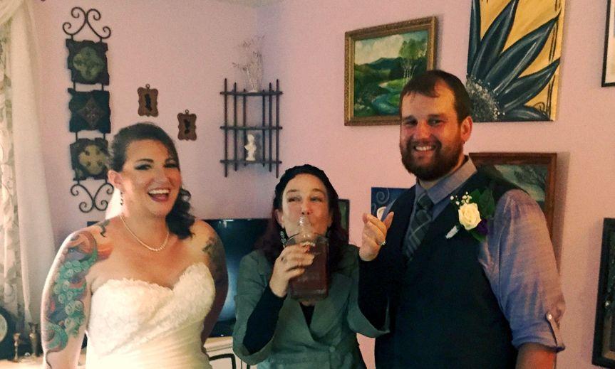 Bury the Bourbon Ceremony