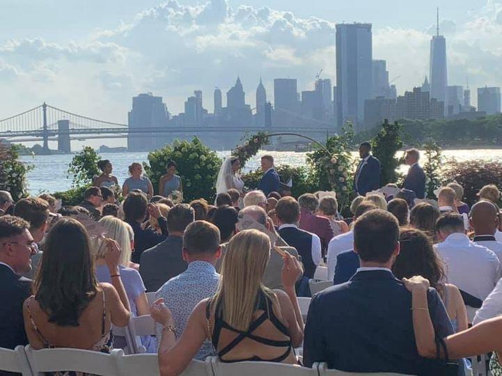 A skyline ceremony