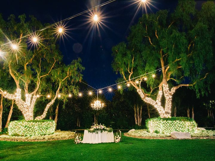 Tmx 1470441257858 Sweetheart Table Lights Moorpark, California wedding venue