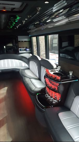Limo Coach seats