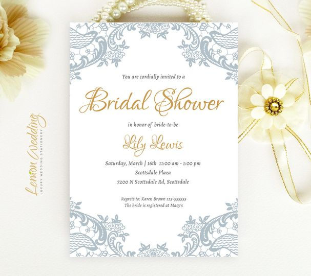 Lemon Wedding Invitations - Invitations - Arlington, VA - WeddingWire