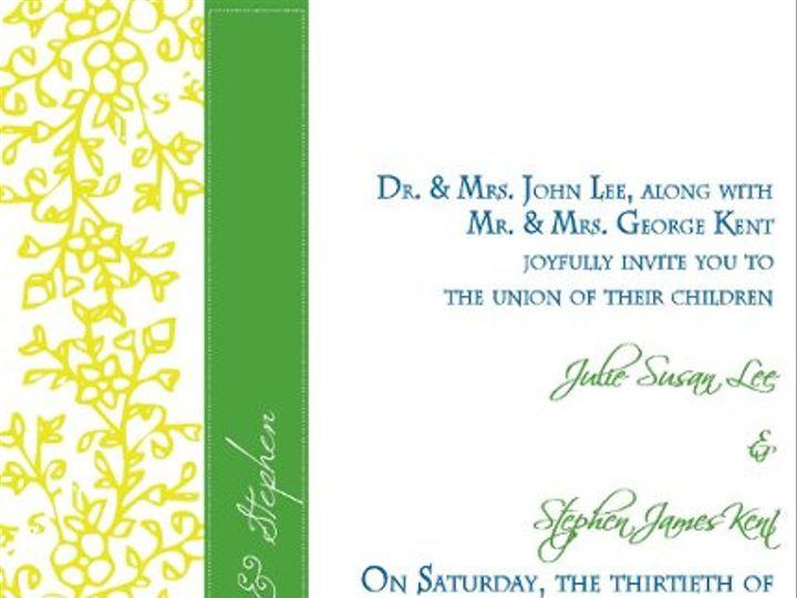 Tmx 1284503605685 AimeeLoved Brooklyn wedding invitation
