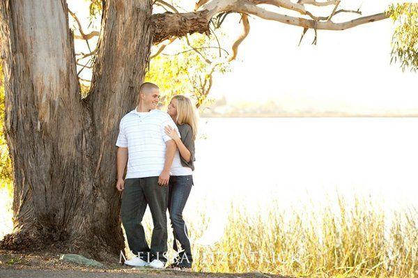An engagement session taken at Laguna Lake in San Luis Obispo.