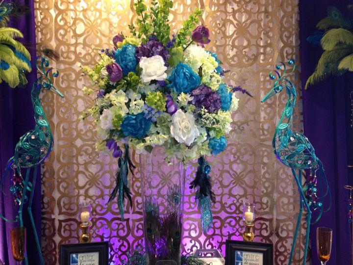 Huge flower centerpiece