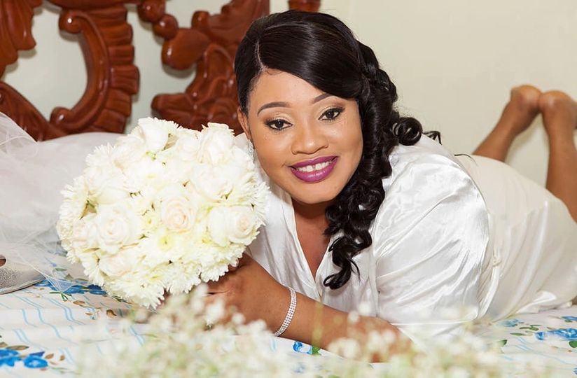 Simply flawless bride
