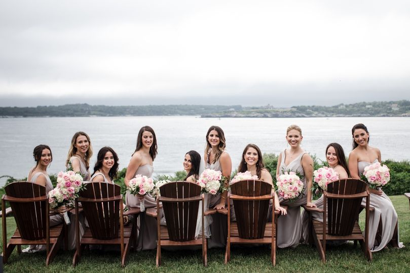 Ocean Cliff Bridesmaids