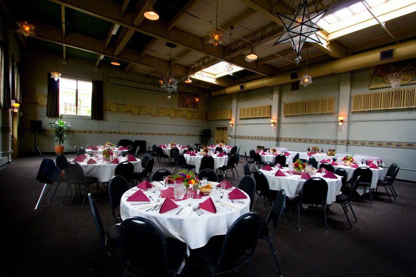 Elegant wedding receptions
