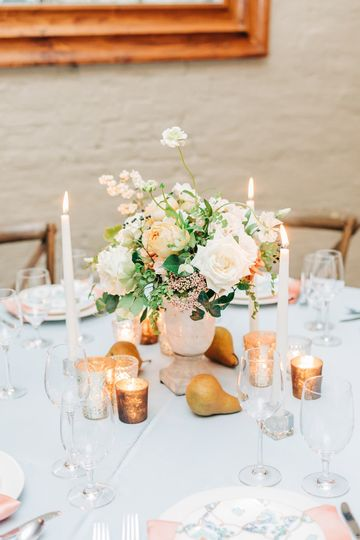 Romantic centerpiece