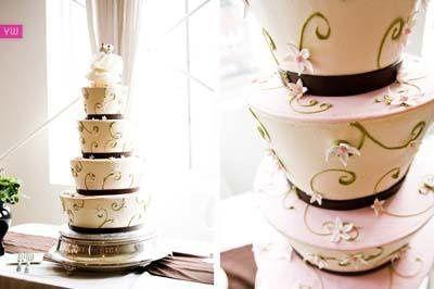 Tmx 1241072895437 OffKilterpinkbuttercream Seattle wedding cake