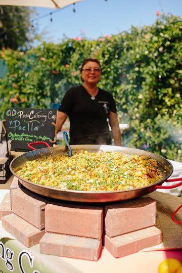 Paella & Trish your chef