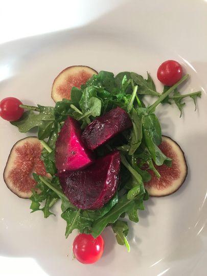 Roasted Beet & Fig Salad