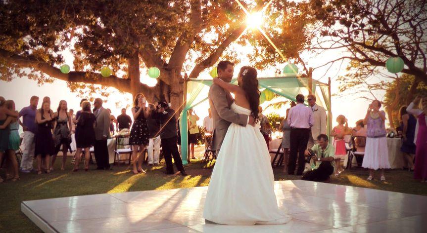 candace and chris wedding still