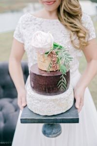 Tmx 1466003055447 Cake Made Of Cheese Andiefreemanphotographyfoxhall Williamsburg wedding cake