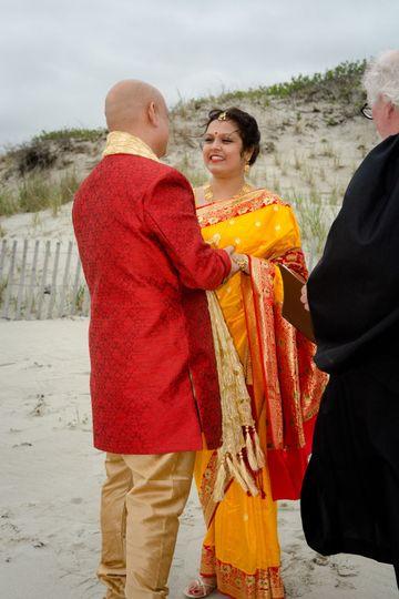 Second Beach Wedding
