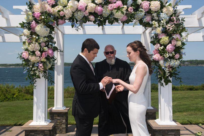 Ocean Cliff Wedding Newport