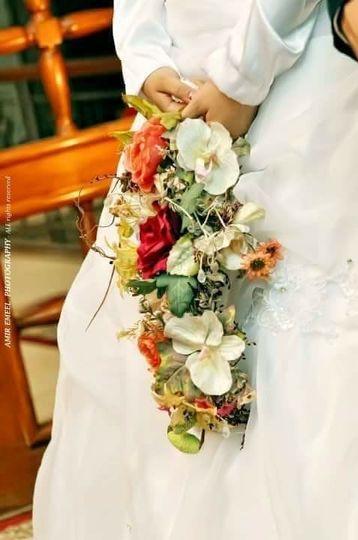 Our bridal bouquet