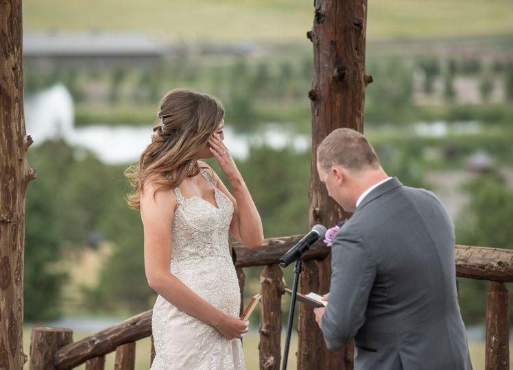 Ceremony tears