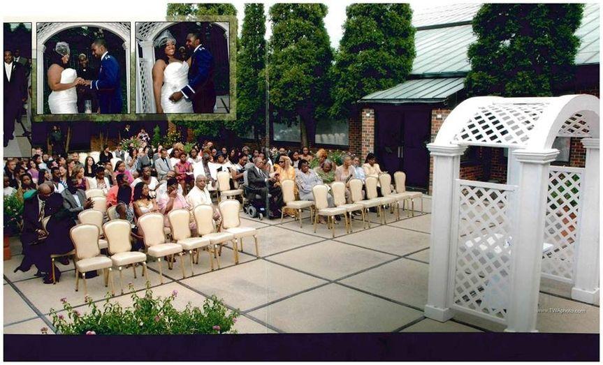 Outdoor Patio Ceremony