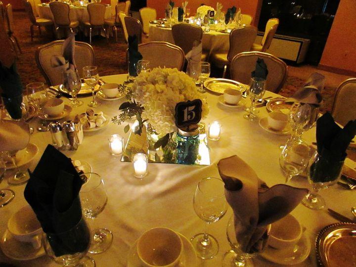 Atrium Ballroom Table Setting