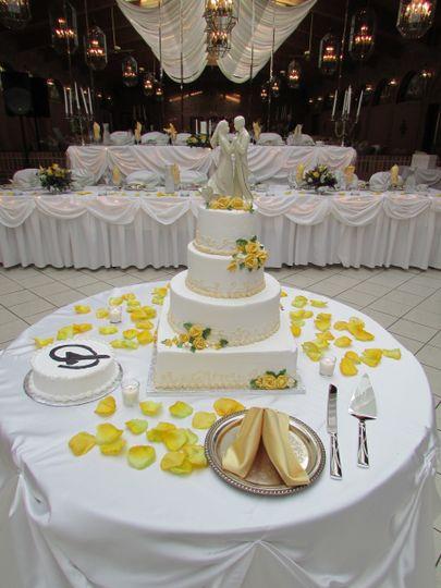 Terrace Ballroom Wedding Cake
