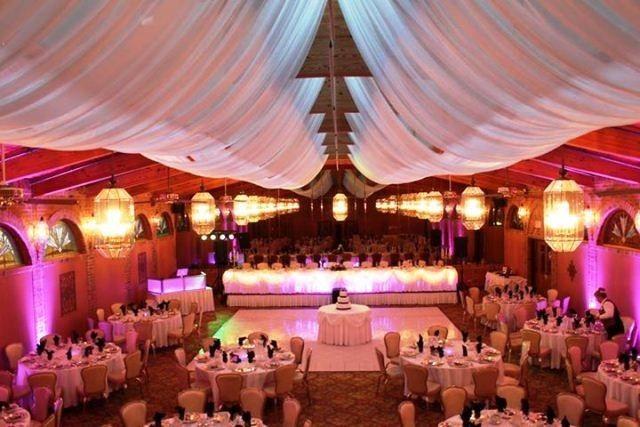 Terrace Ballroom with expansive sky lights