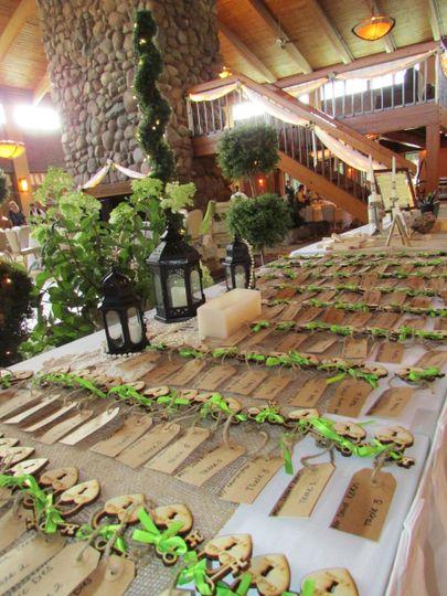 Atrium Ballroom Reception Table