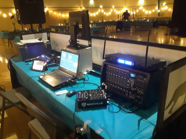 Our Setup from the back Side