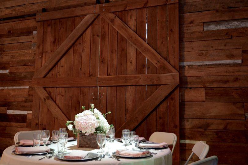Robertson Hall Barn Doors